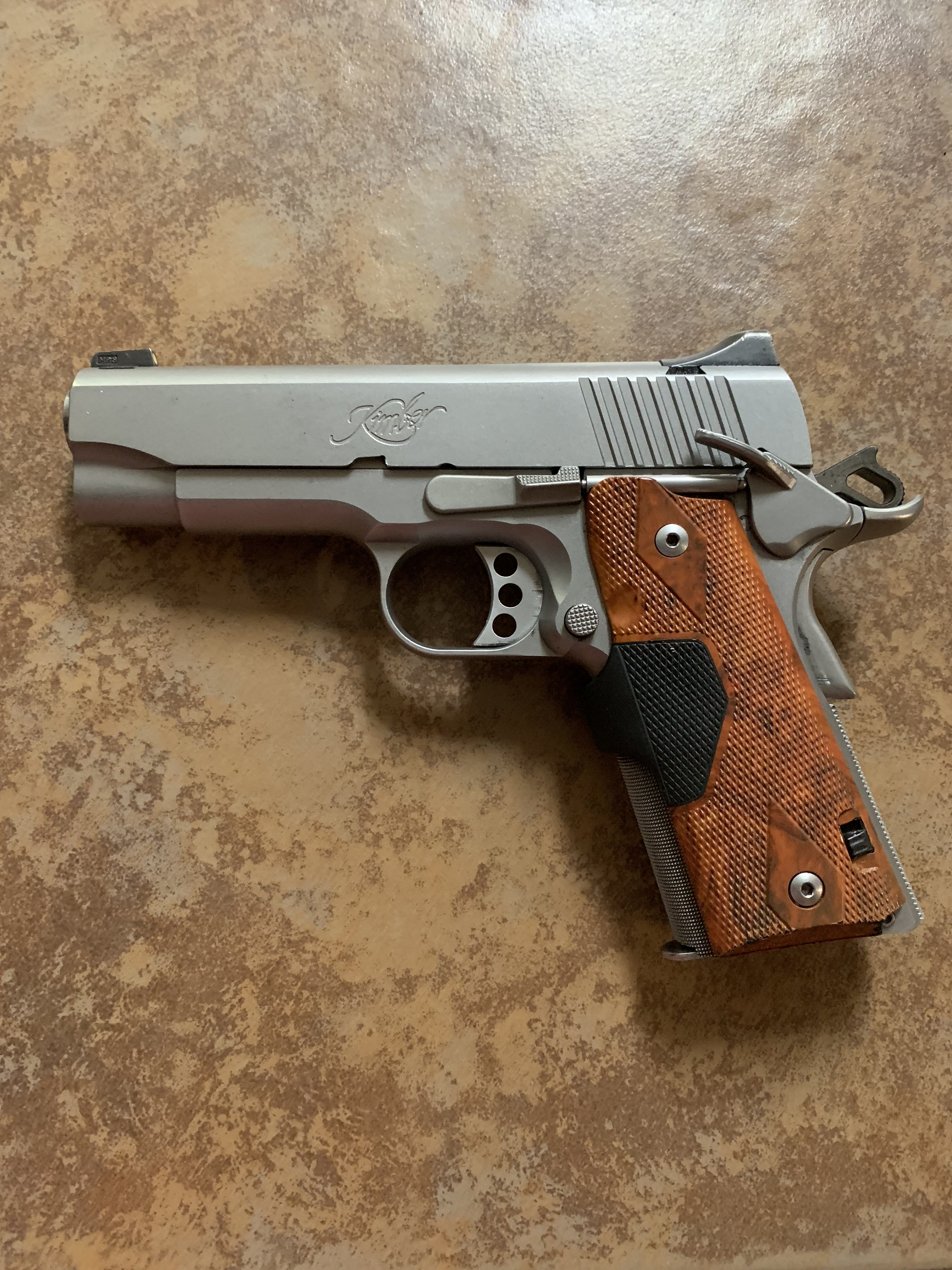 Kimber Stainless Pro TLE II CT   Mississippi Gun Owners