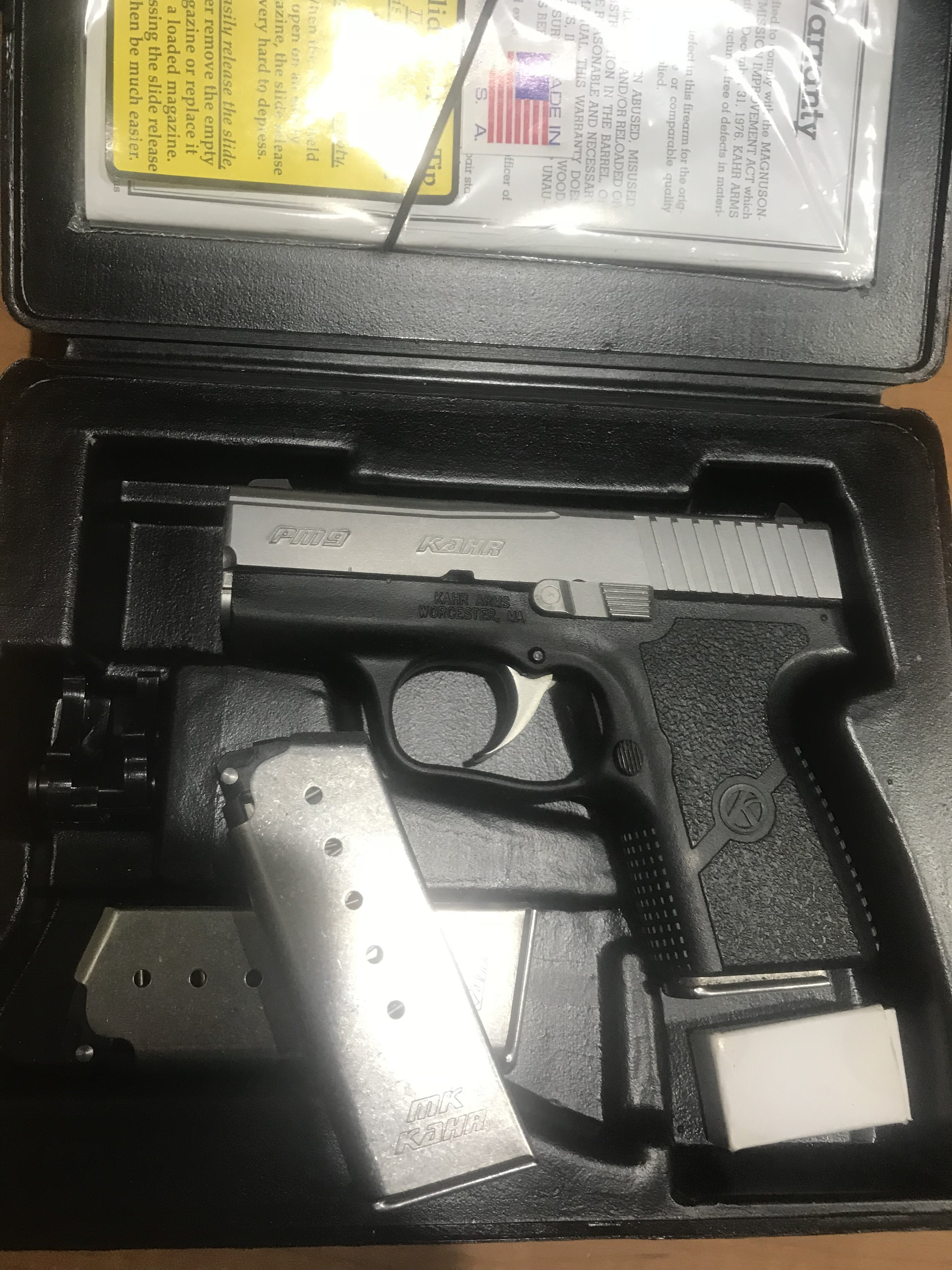Kahr PM9 | Mississippi Gun Owners - Community for