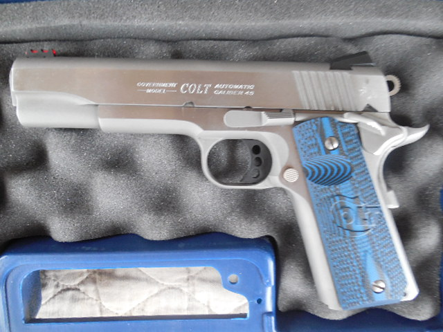 Sold - Colt Competition 1911 Series 70 Government  45 ACP