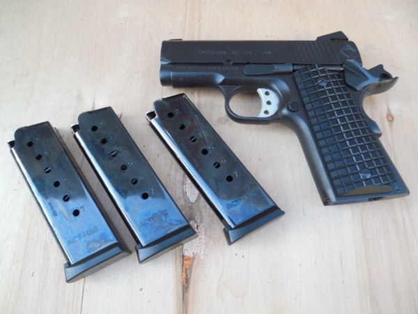 Sold American Tactical Titan 45 Acp Compact 3 1911 W3 Mags