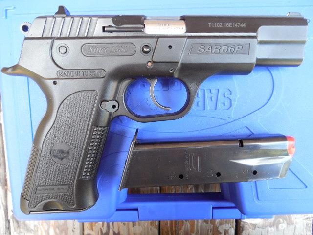 EAA/SAR B6P Standard Size Polymer CZ75 Style 9mm | Mississippi Gun