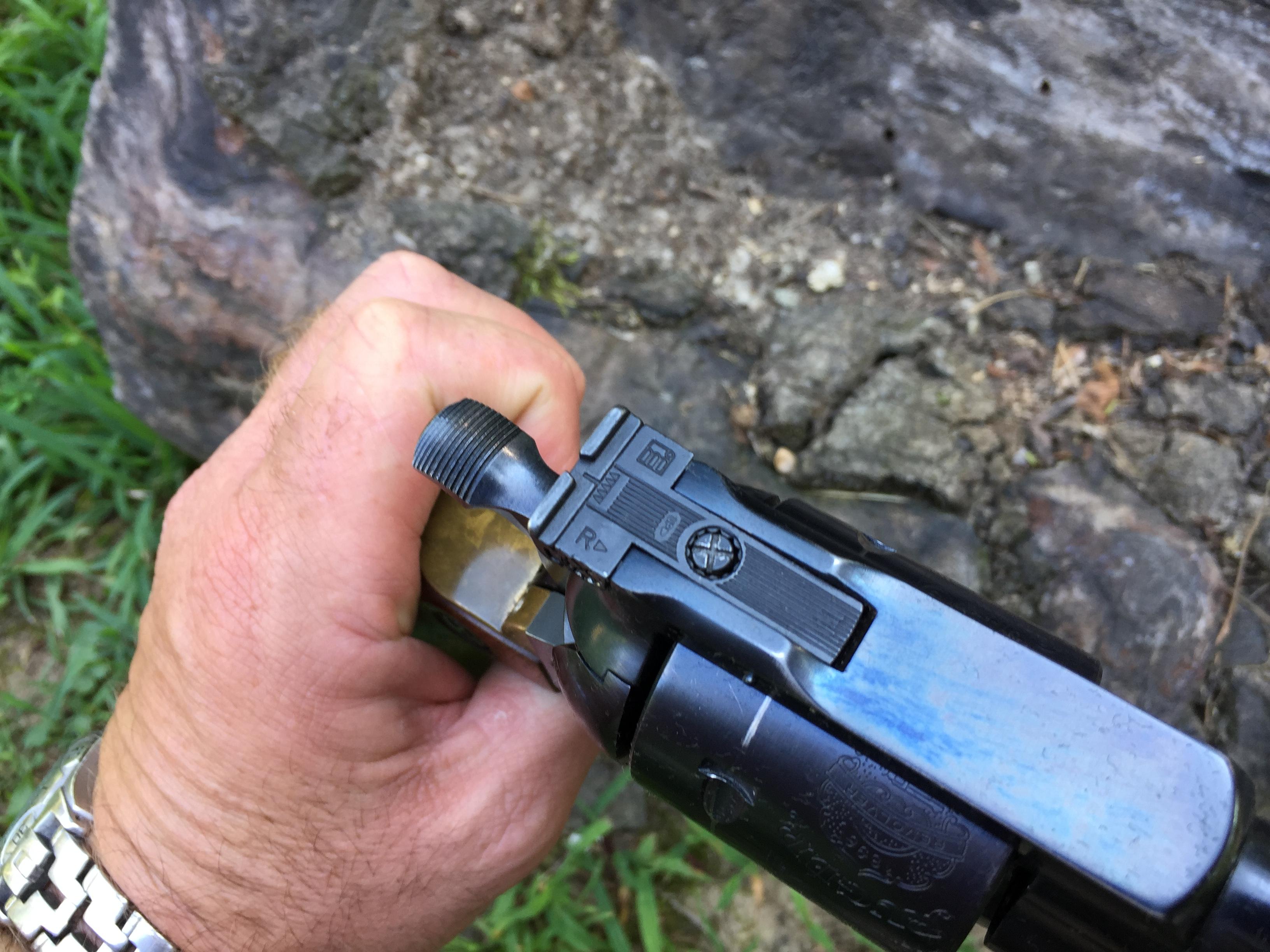 Sold - Ruger Blackhawk 45 w/brass grip frame   Mississippi