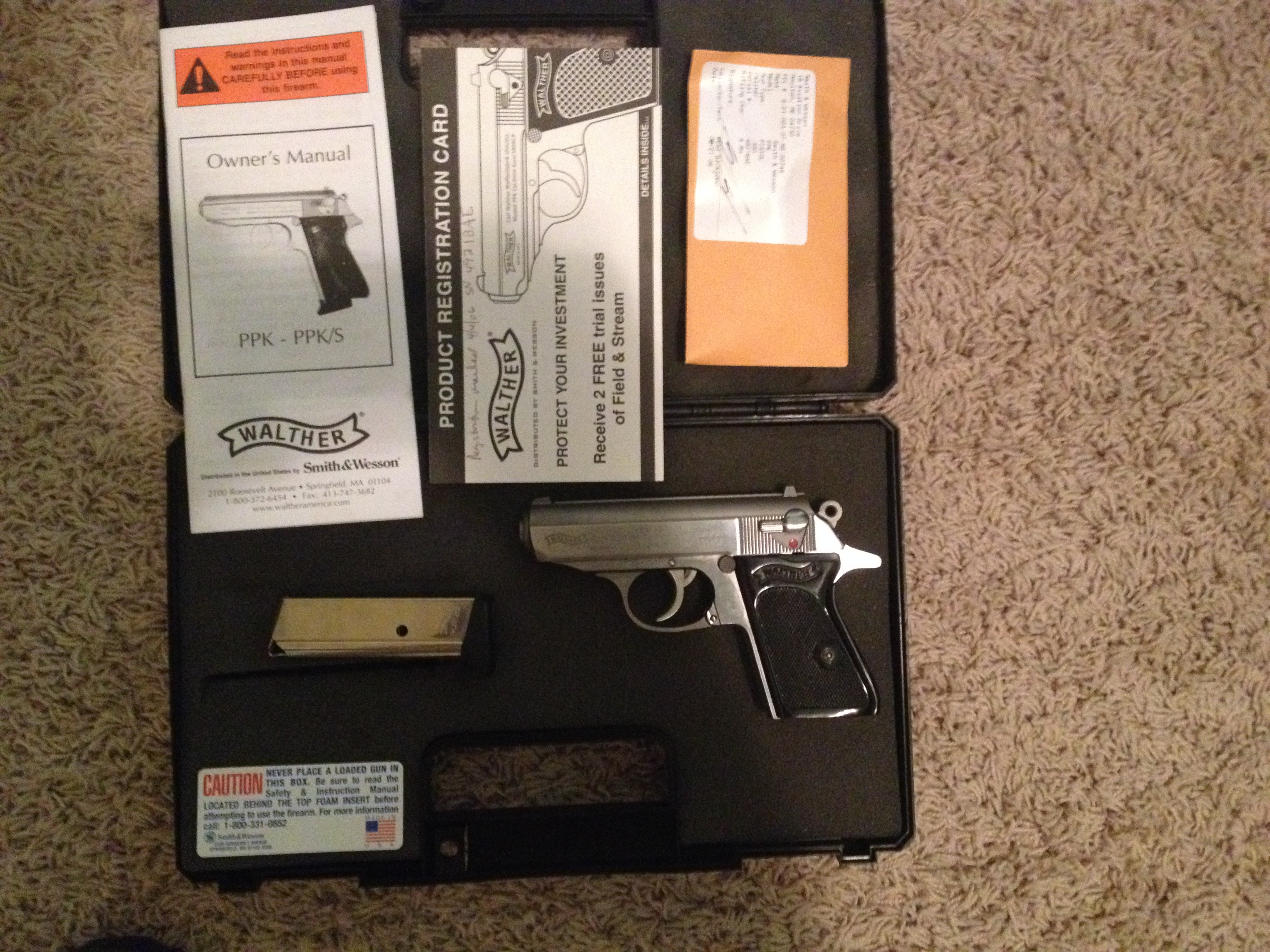 Walther PPK Stainless 380 | Mississippi Gun Owners
