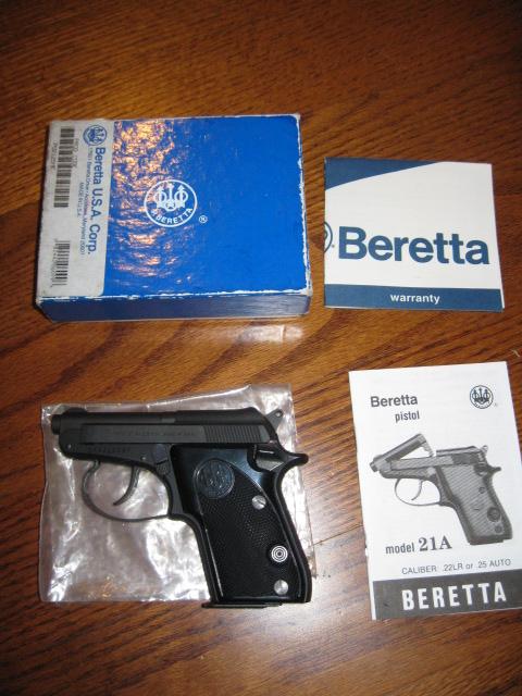 Sold - Beretta Model 21A Bobcat ( 25 ACP) Tip Barrel | Mississippi