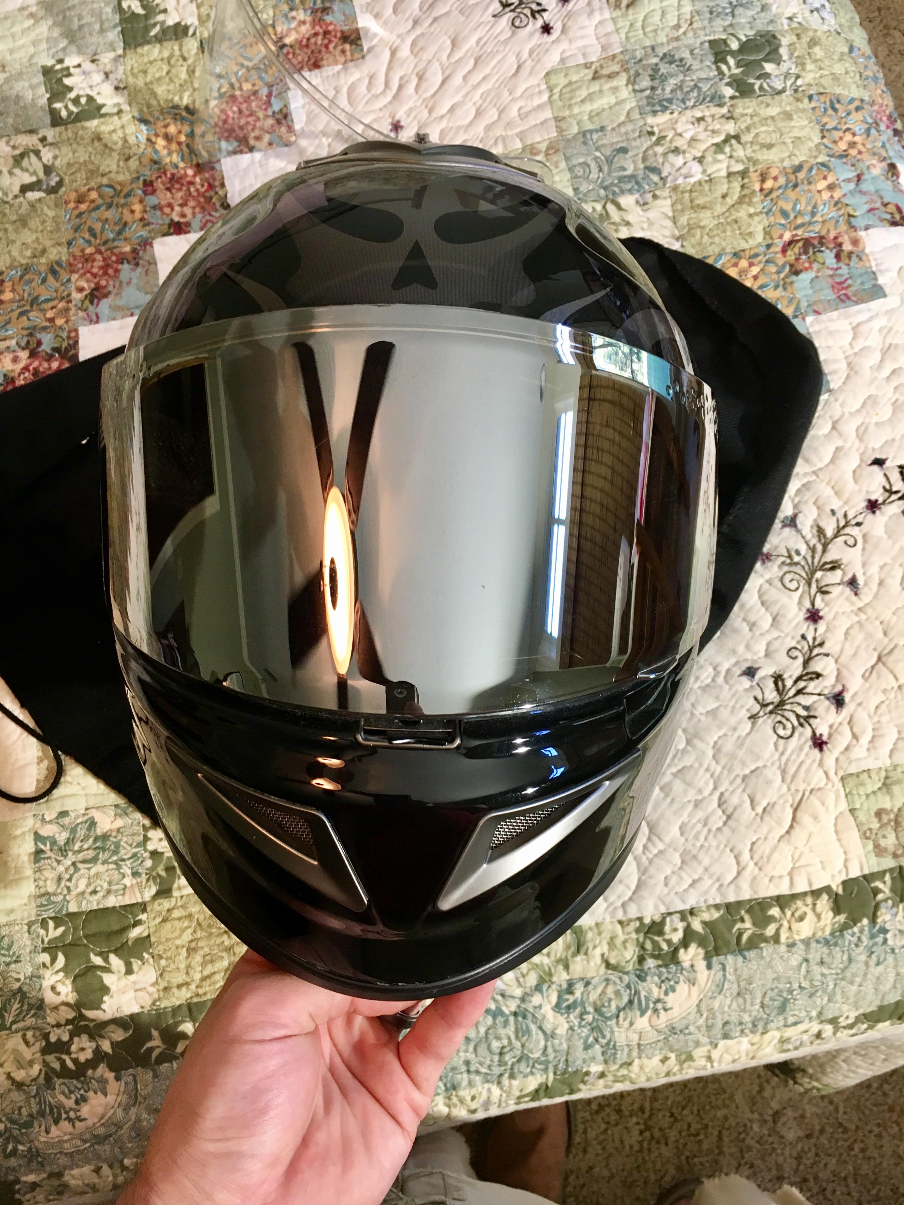 HJC IS-CRUISER MOTORCYCLE HALF HELMET MATTE BLACK LARGE LG 0824-0135-06