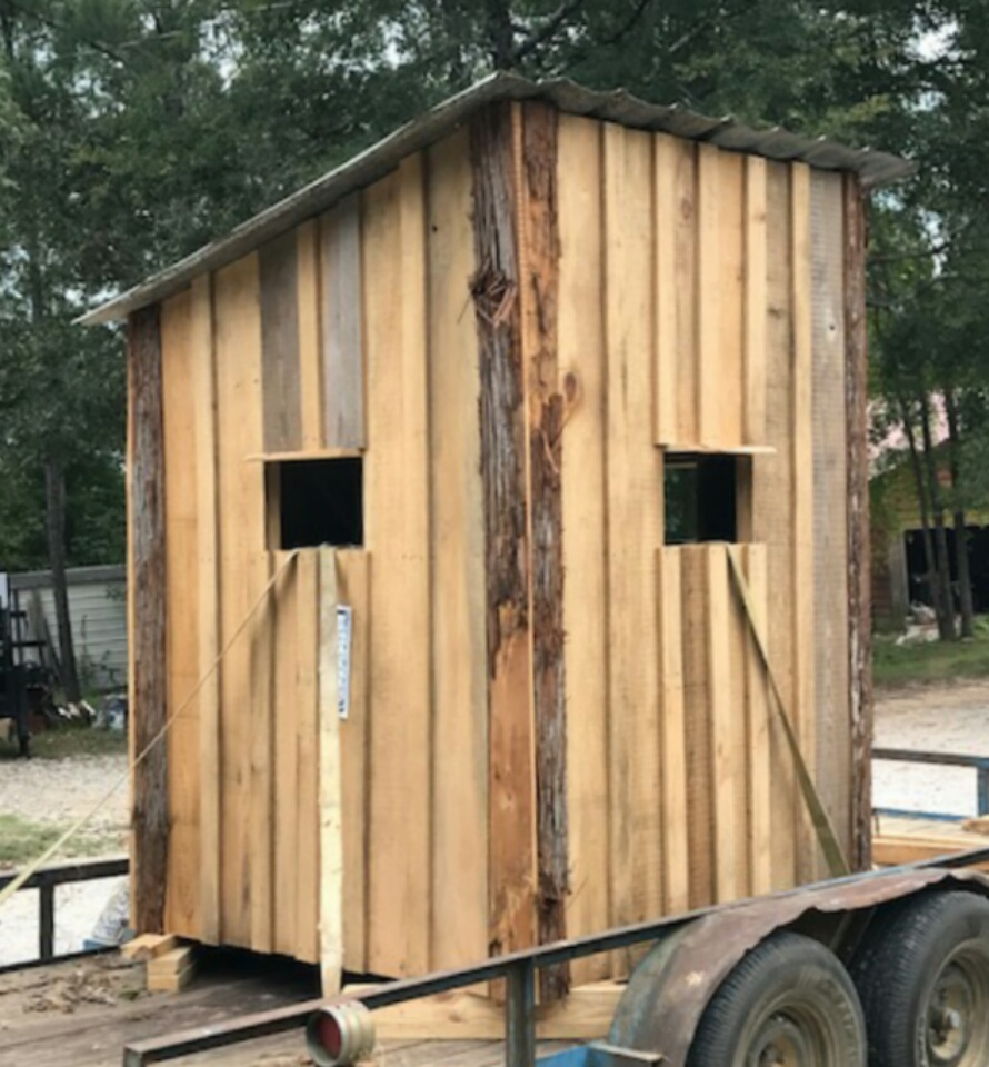 5x5 Cypress Shooting House Mississippi Gun Owners