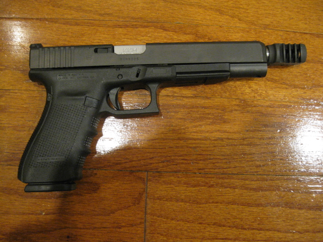 Glock 40 Mos 10mm With Kkm Threaded Barrel And Compensator