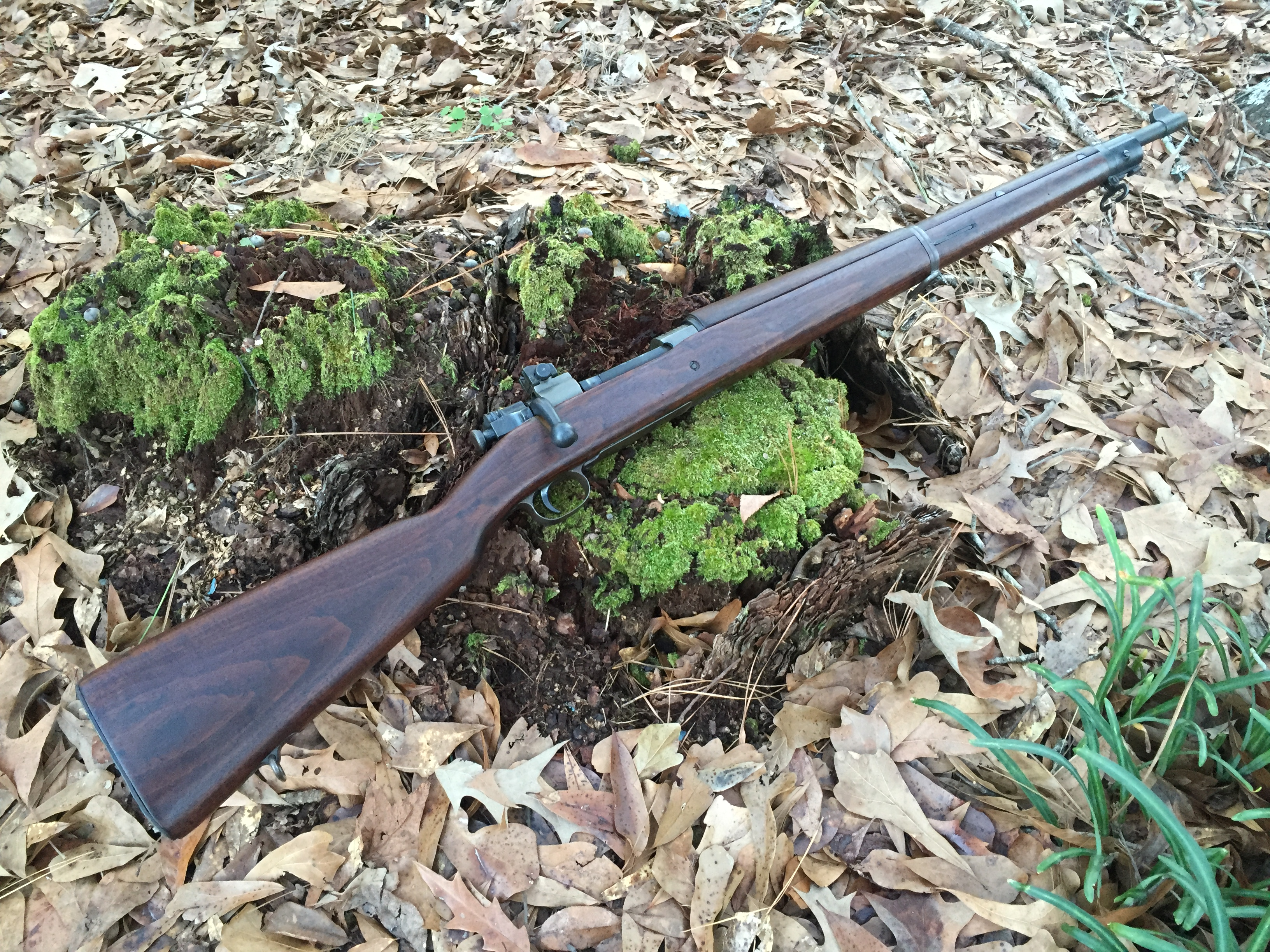 Sold - Smith Corona 1903A3 - Converted from a drill rifle