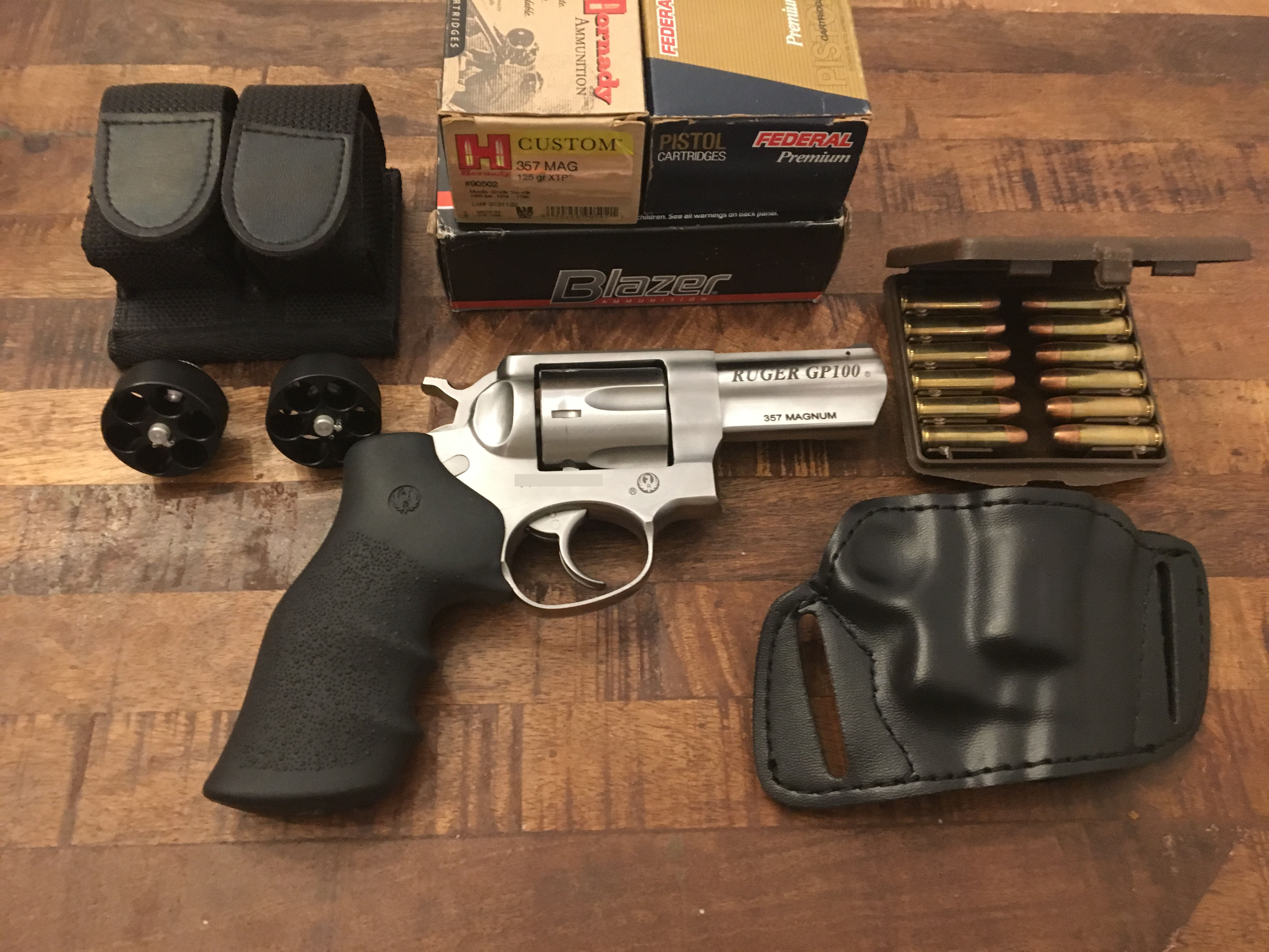 Ruger GP100 with accessories | Mississippi Gun Owners