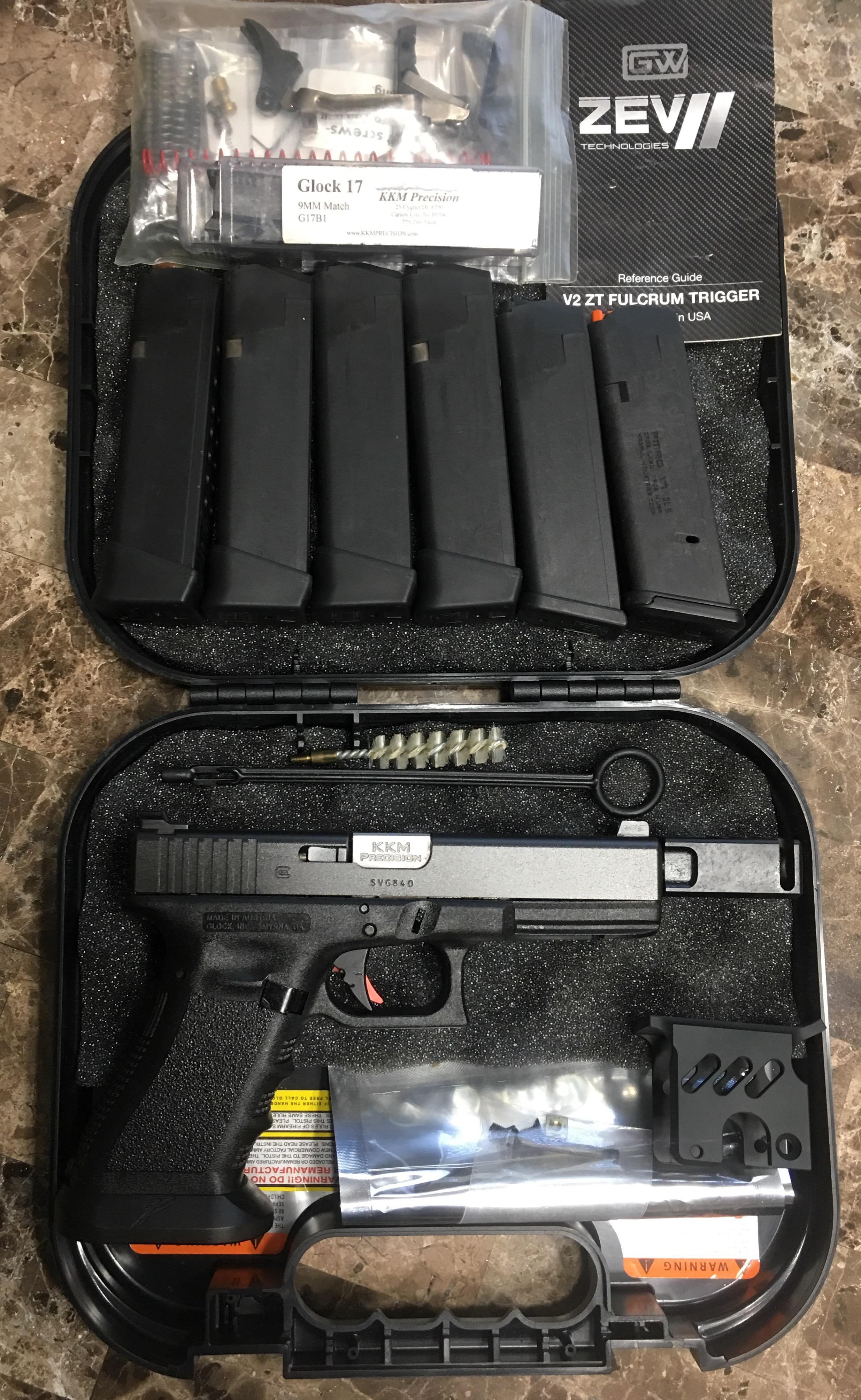 Glock 17, CZ 75 SP-01, Kimber Warrior 1911 | Mississippi Gun Owners