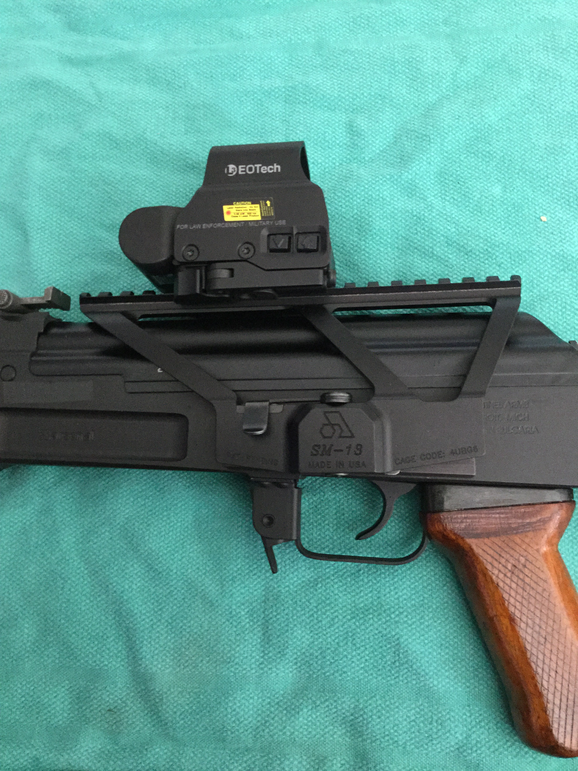 Best optic mounting option for an AK? | Mississippi Gun